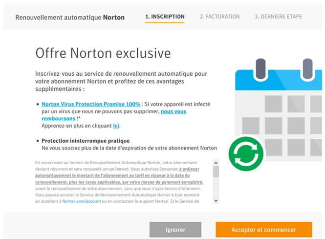installation de norton antivirus soutien